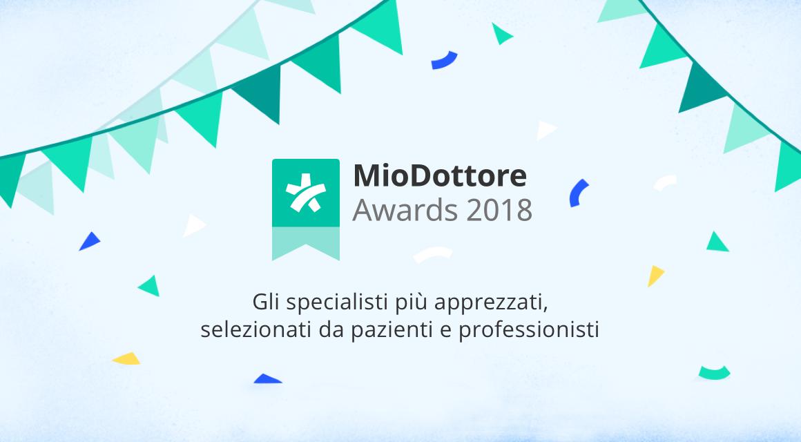 MioDottore Awards 2018: arrivano in Italia i premi che celebrano i medici più apprezzati da colleghi professionisti e pazienti