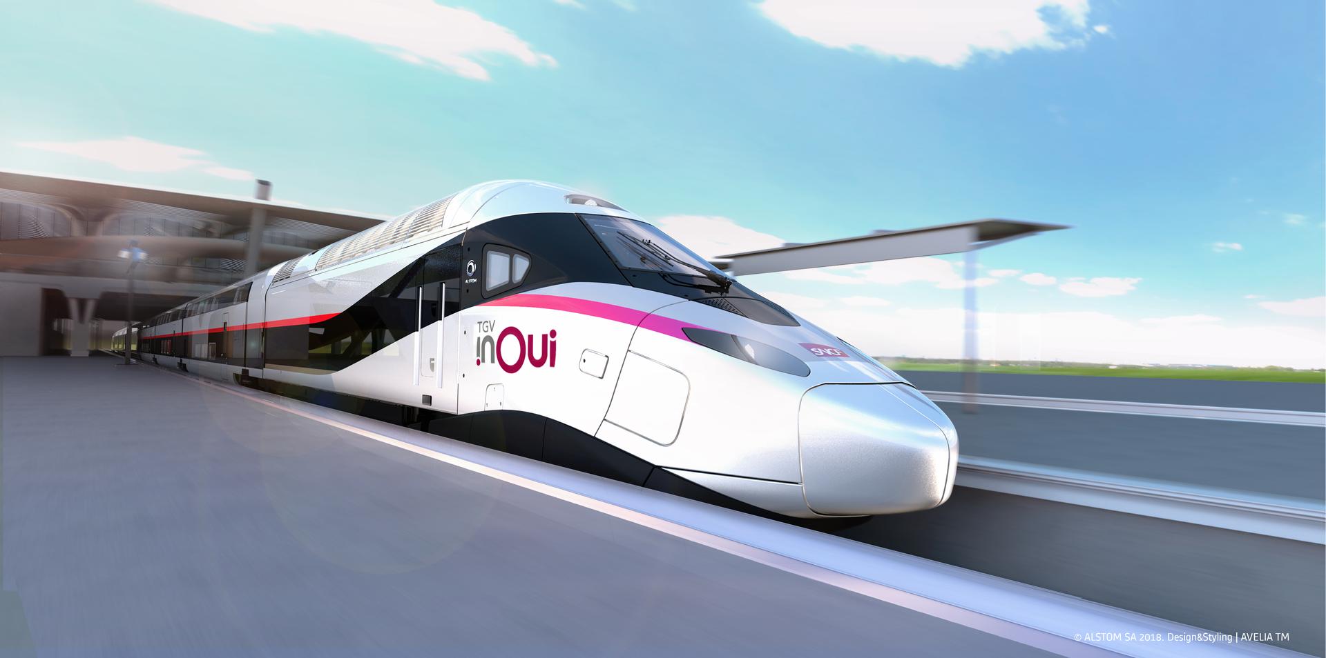 Alstom otrzymał zamówienie od SNCF na 100 pociągów bardzo dużych prędkości najnowszej generacji