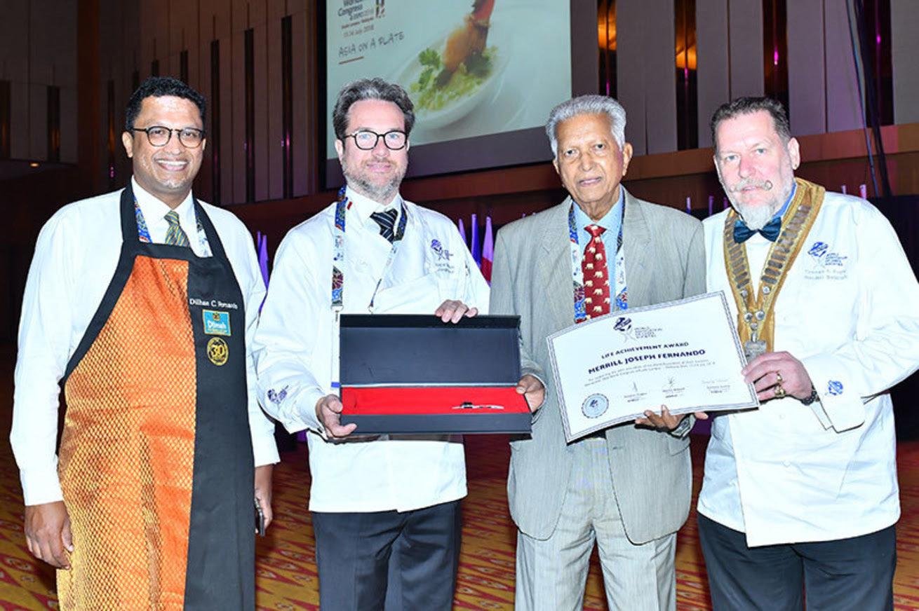 Założyciel firmy Dilmah nagrodzony przez  Światowe Stowarzyszenie Społeczności Szefów Kuchni