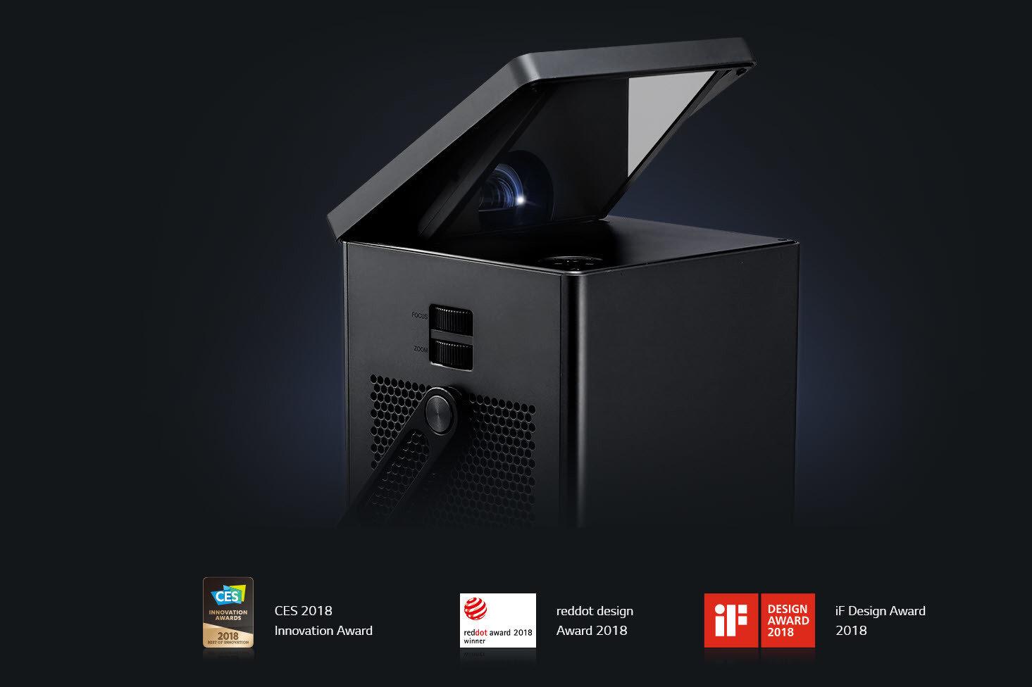 150 cali oszałamiającej rozdzielczości 4K lub kompaktowa, lekka bryła z akumulatorem, diodami LED i bezprzewodowym obrazem Full HD – oto nowe projektory od LG