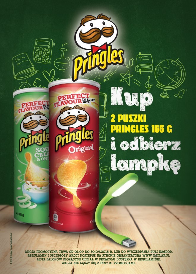Promocja Pringles w salonikach Kolportera