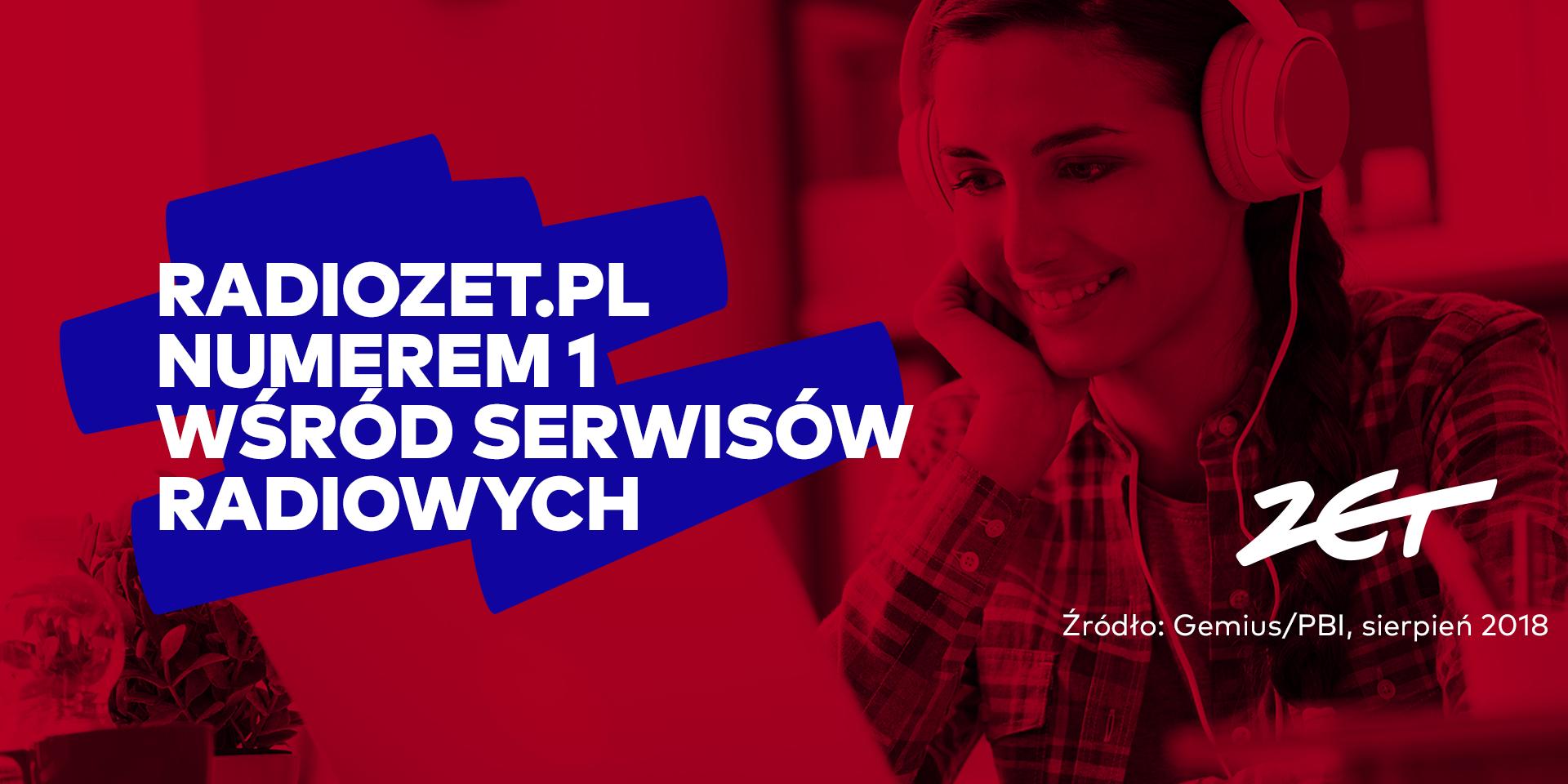 Radiozet.pl największym serwisem radiowym