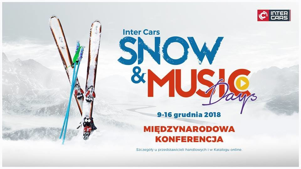 Wystartowała nowa strona Snow & Music Days 2018