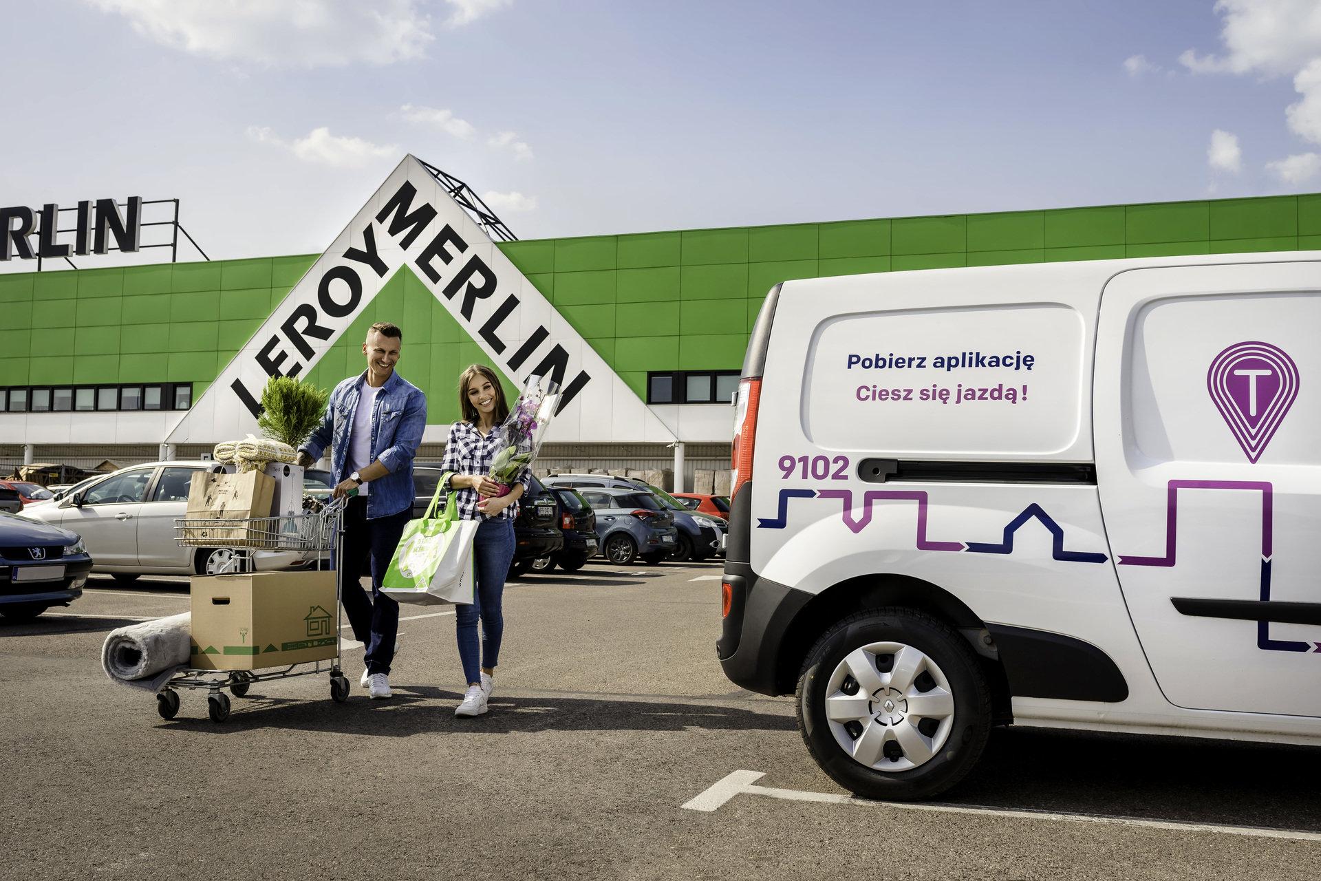 Samochody Traficara od teraz dostępne przy sklepach sieci Leroy Merlin