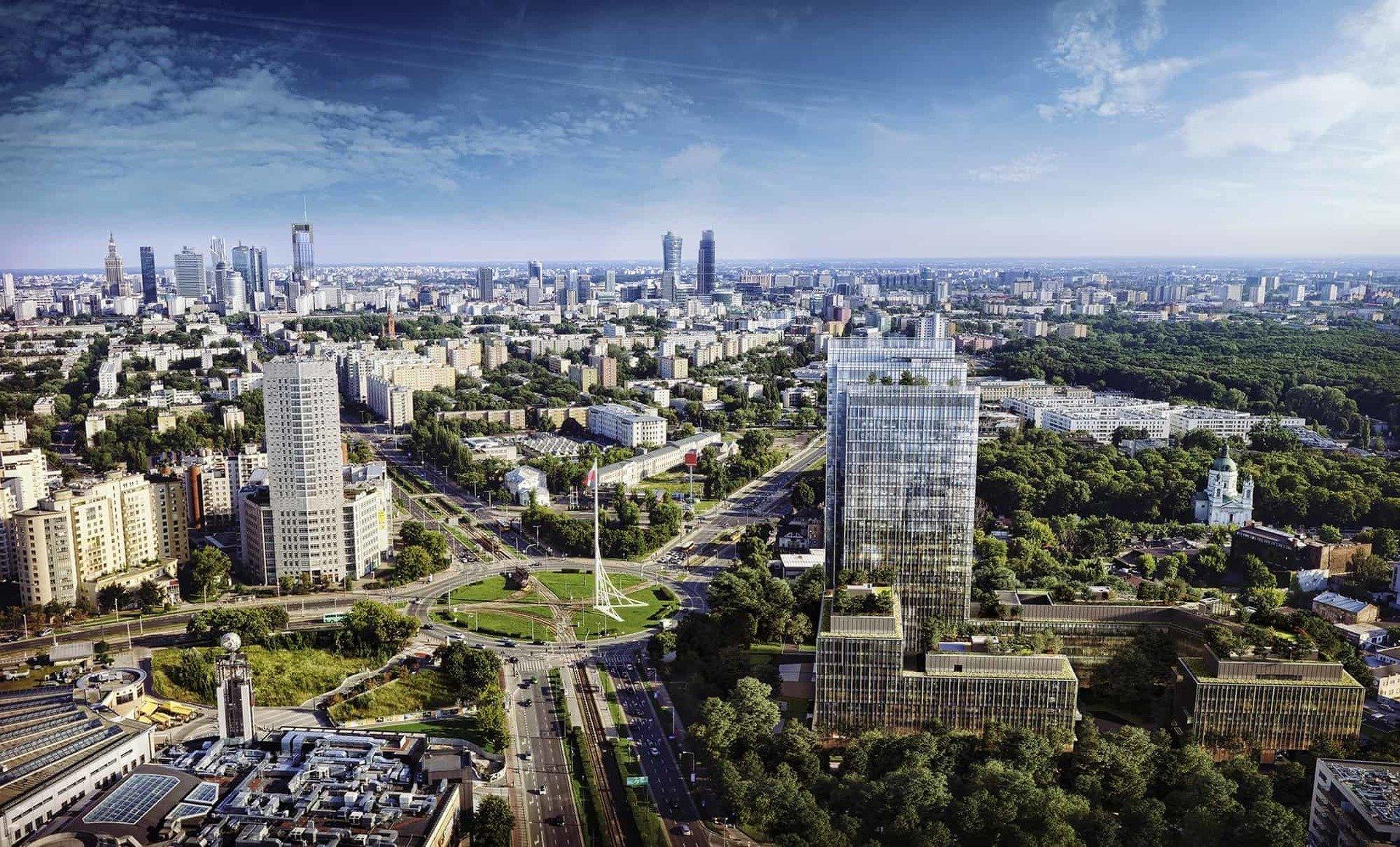 HB Reavis z pozwoleniem na budowę kampusu biurowego w Warszawie