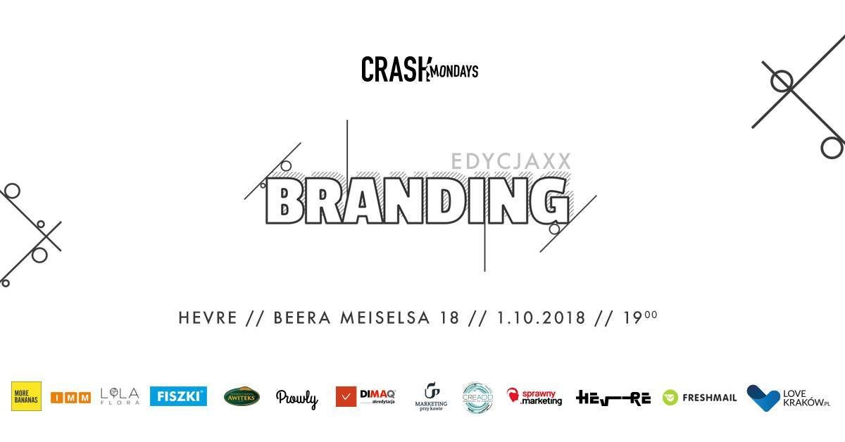 CRASH Mondays № 20: Branding