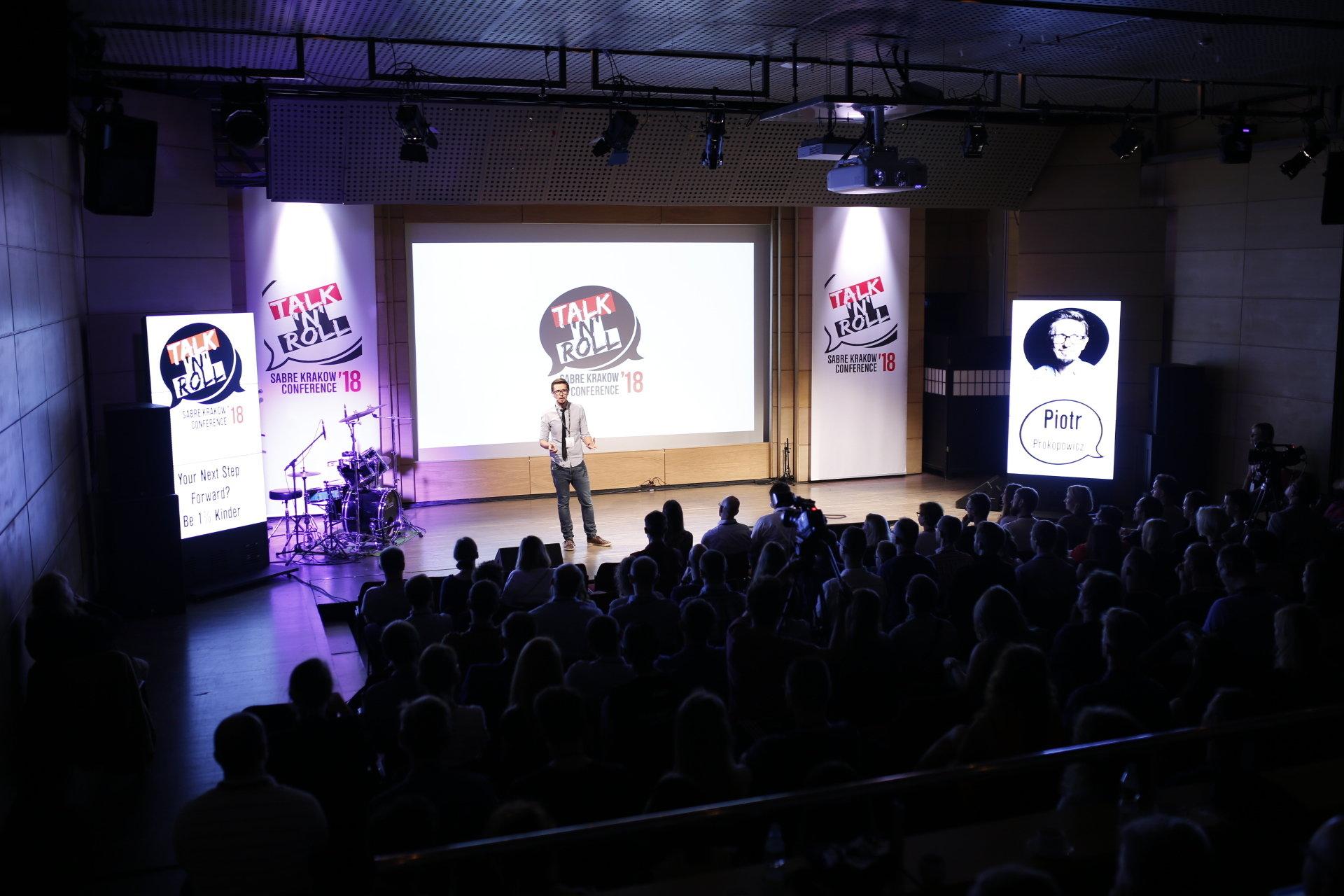 Zobacz co o zmieniającym się świecie mówili Jan Mela, Michał Rusinek i inni prelegenci konferencji Talk'N'Roll