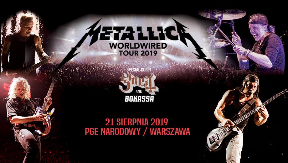 Klienci Citi Handlowy znowu mają lepiej: rusza przedsprzedaż na koncert zespołu Metallica