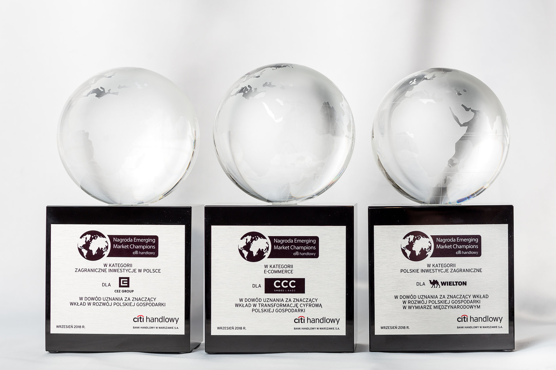 Three times Emerging Market Champions Award