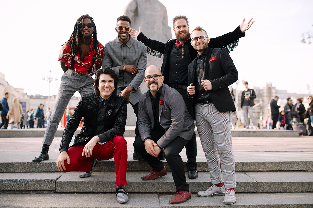Six Appeal, a cappella champion, performs at Carthage on Oct. 18