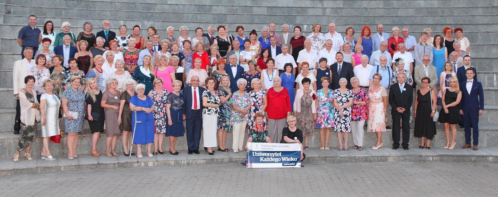 Uniwersytet Każdego Wieku w Wyższej Szkole Bankowej w Bydgoszczy świętuje 10-lecie powstania.