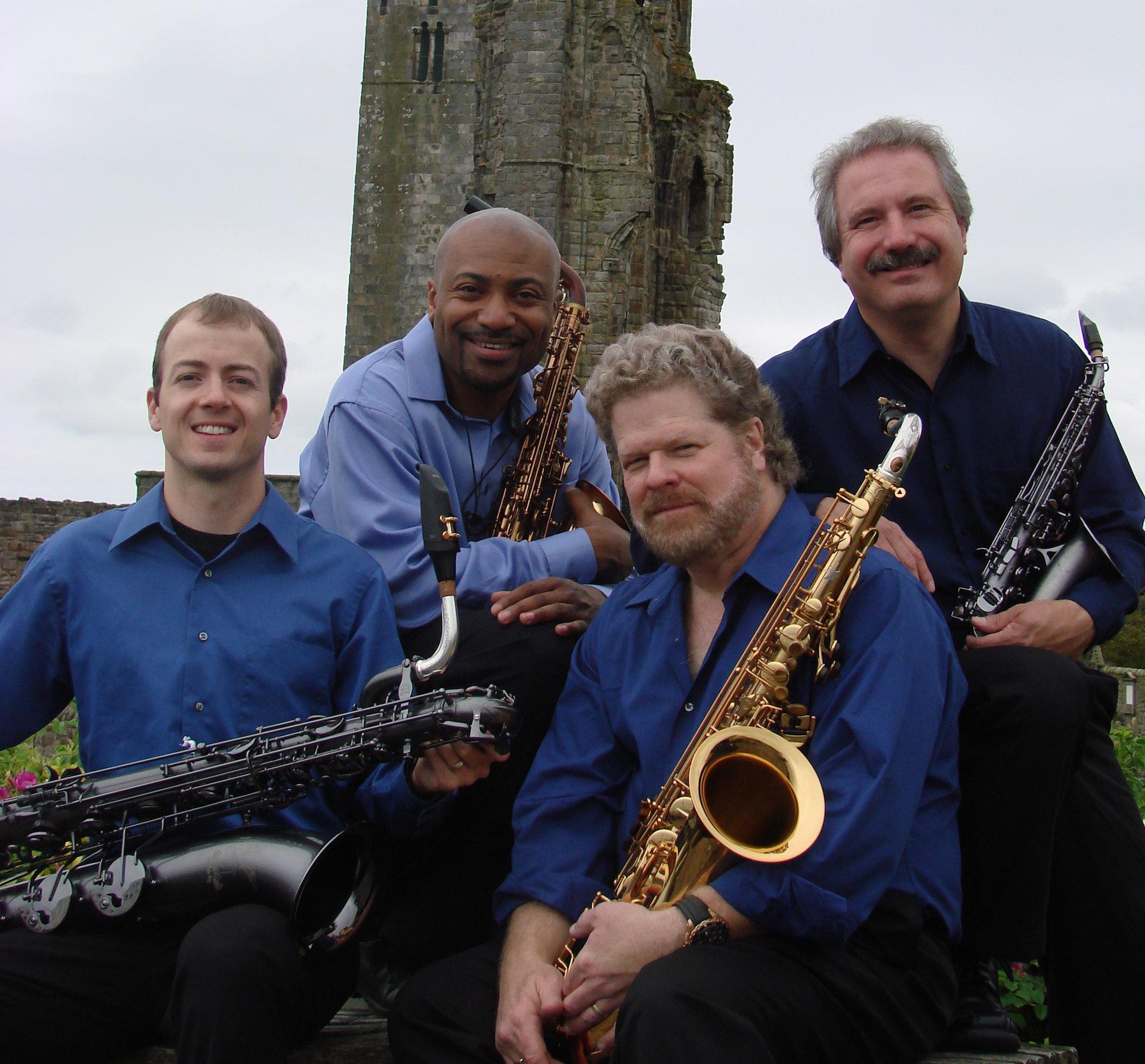 Nov. 3 concert at Carthage features New Century Saxophone Quartet