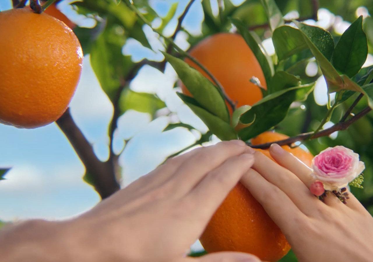 Matka Natura promuje soki pomarańczowe Hortex