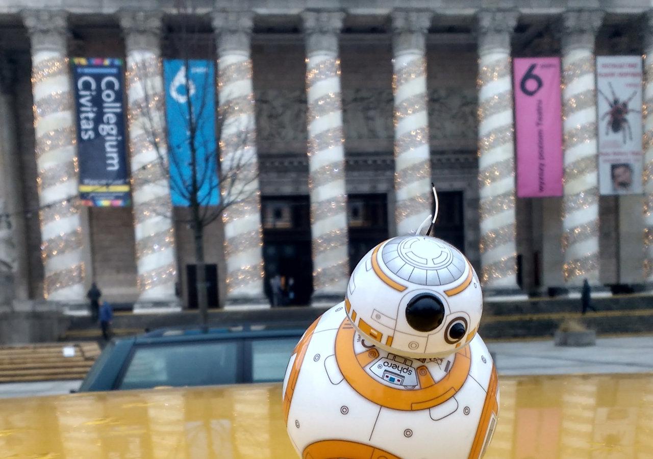 Star Wars, droid BB-8 i… Warszawa