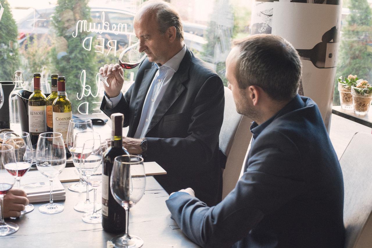 Lamberto Frescobaldi:Wino w ulubionych okolicznościach
