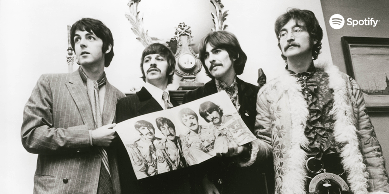 100 dni The Beatles w Spotify