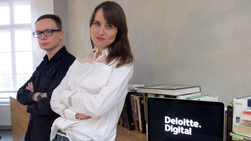 Magdalena Drozdowska i Mateusz Książek pokierują kreacją Deloitte Digital
