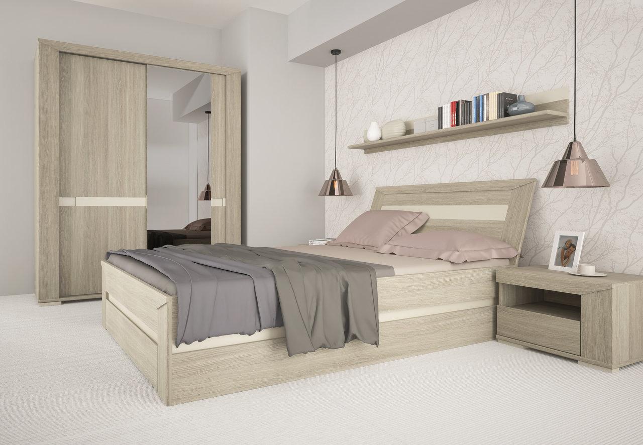 Praktyczna sypialnia dla singla