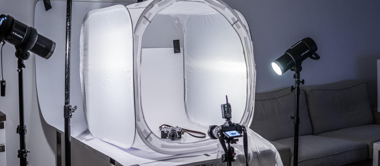 Jak korzystać z namiotu bezcieniowego