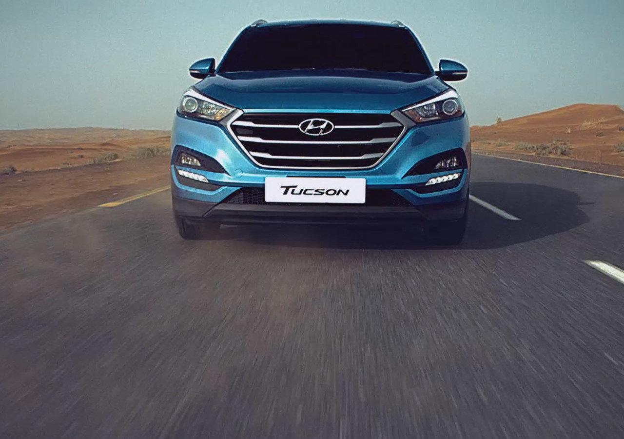 Żywiołowa kampania SUV'ów Hyundaia