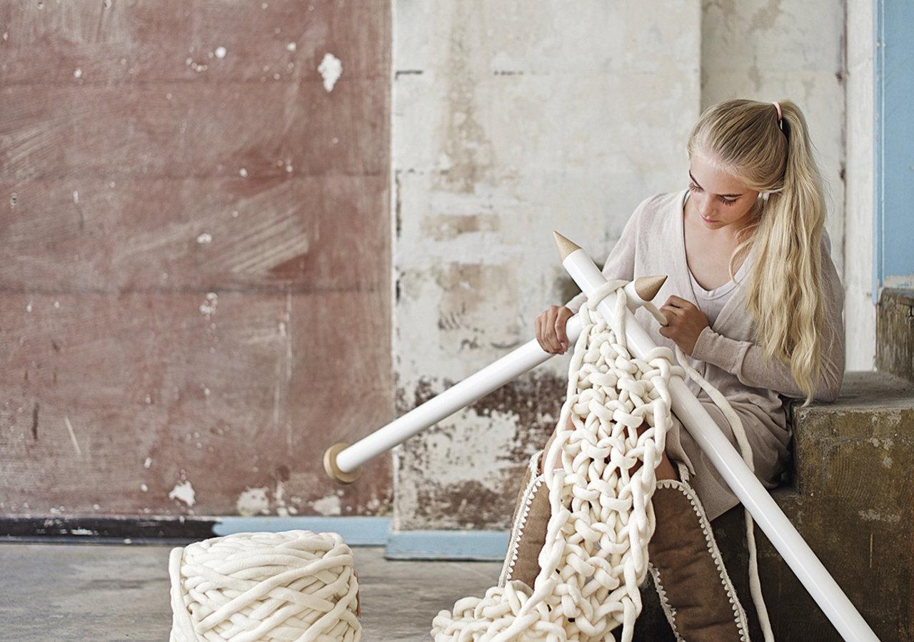 "Extreme Knitting, Schrumpffolie & Drahthäkeln – DaWanda launcht neues Selbermach-Portal ""DIY with love"""