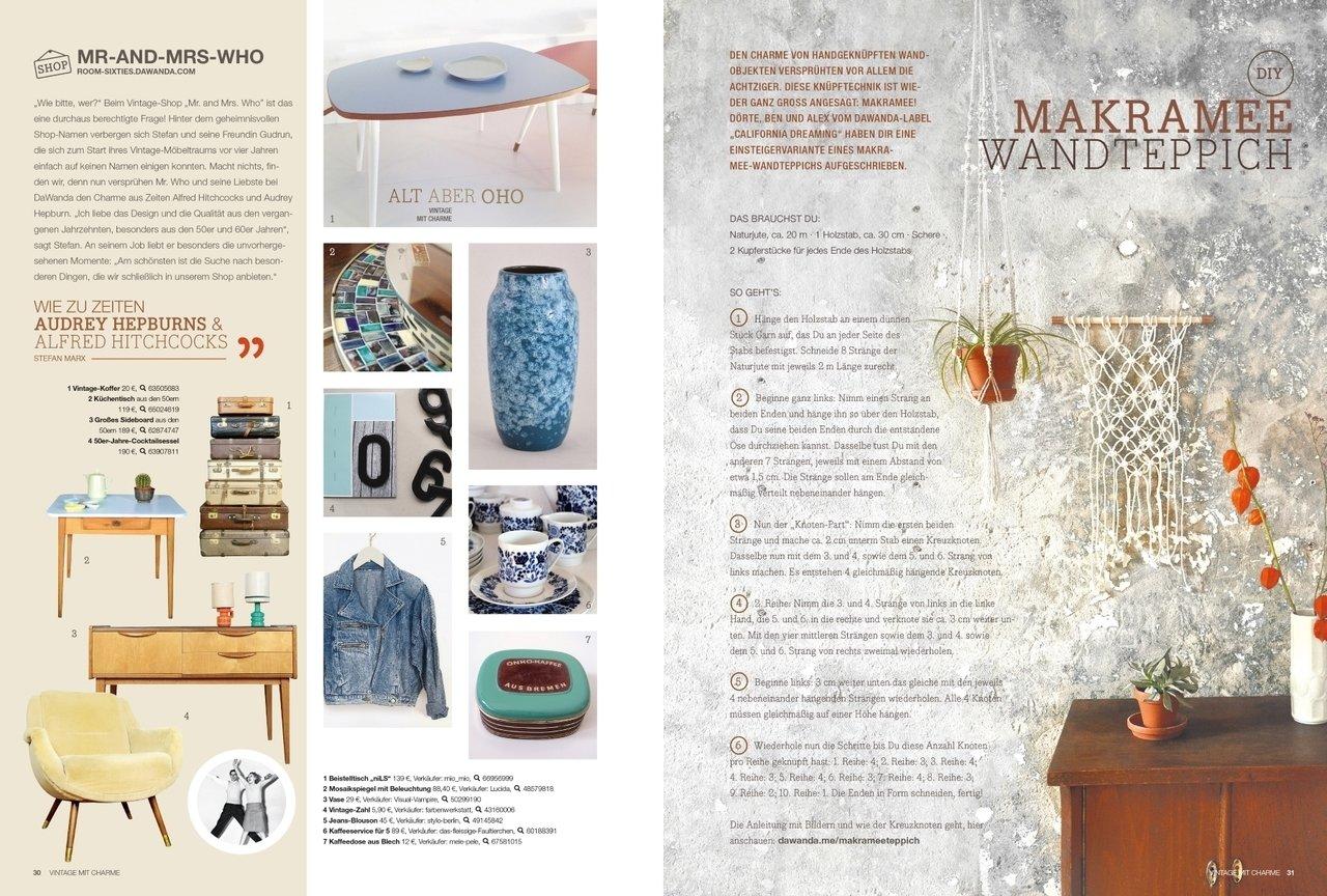 DaWanda LoveMag ab 30. Oktober erstmals im Zeitschriftenhandel