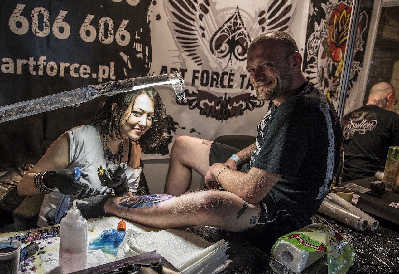 Sztuka tatuażu w trzech odsłonach