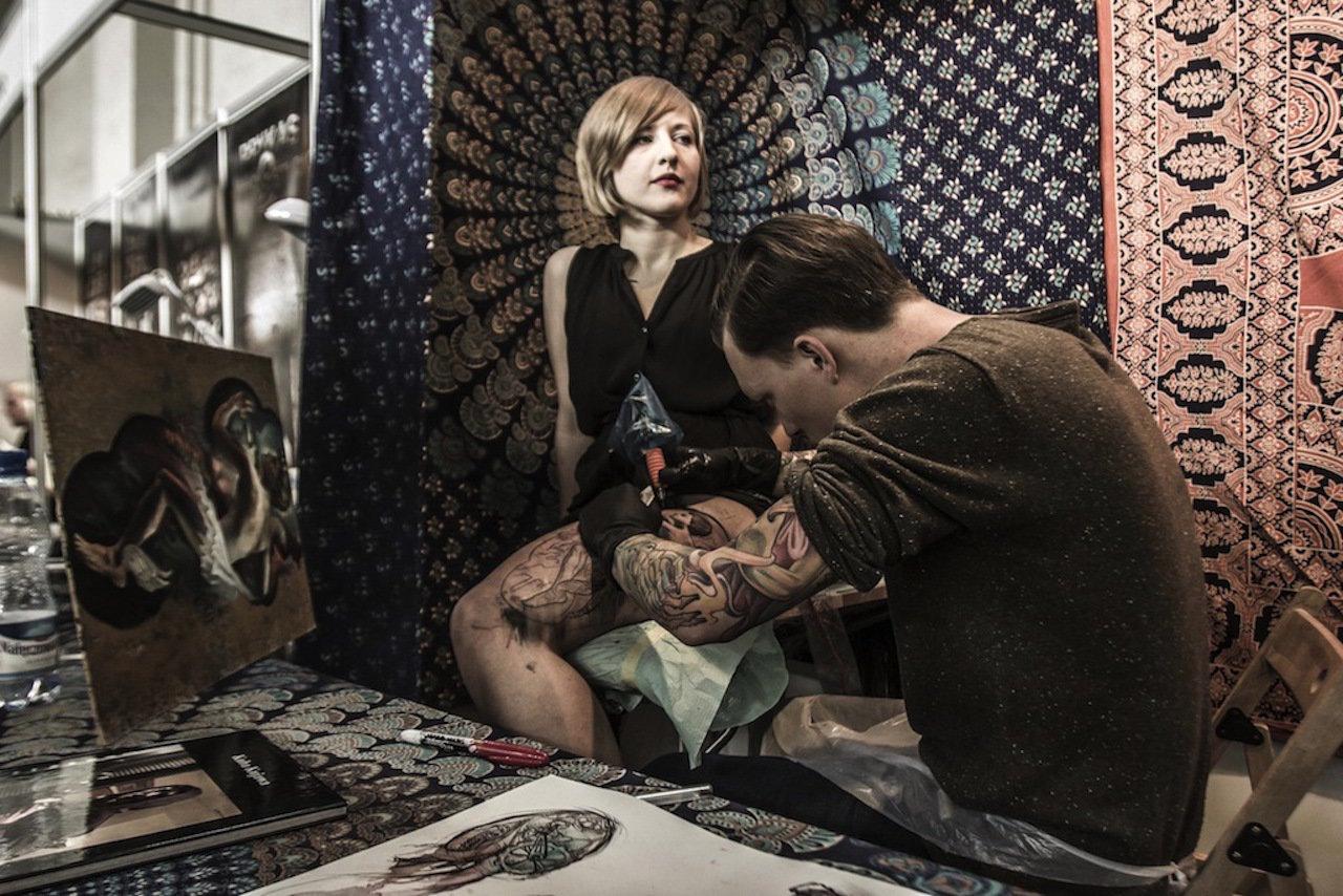 Tatuaże w Browarze