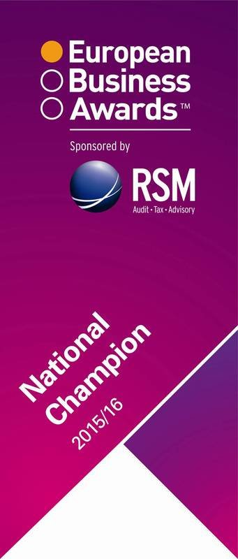 NATIONAL CHAMPION EUROPEAN BUSINESS AWARDS