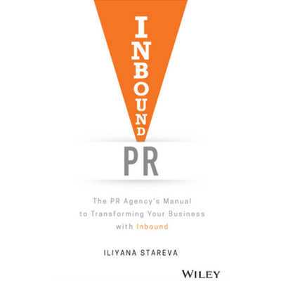 Iliyana Stareva - Author of Inbound PR  logo