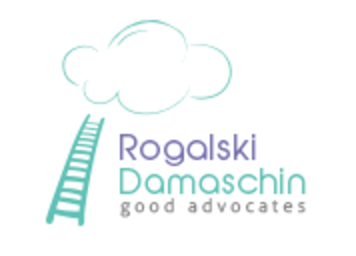 Rogalski Damaschin Press Room logo