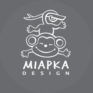 MIAPKA DESIGN logo