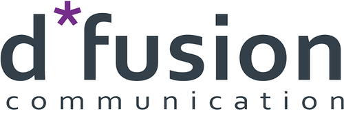 Biuro prasowe d*fusion communication logo